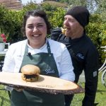Giulia panino pulled faraona ciauscolo avocado Dire Fare Braciare Diavolina barbecue cooking show